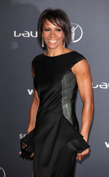 More Pics of Dame Kelly Holmes Evening Dress (2 of 2) - Dame Kelly Holmes Lookbook - StyleBistro