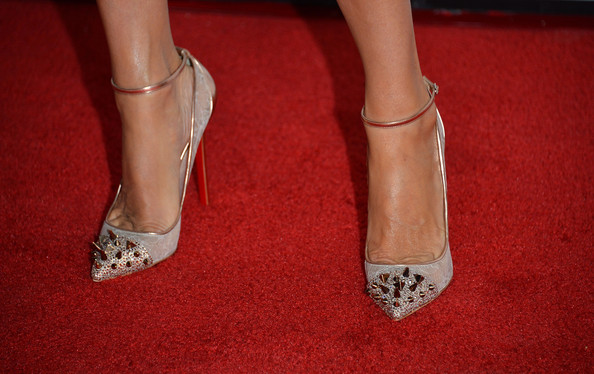 Laurie Holden Studded Heels