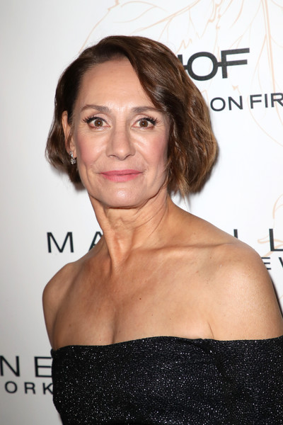 Laurie Metcalf Bob [eyebrow,beauty,hairstyle,chin,shoulder,fashion model,brown hair,long hair,hair coloring,flooring,nominees,laurie metcalf,screen actors guild awards,california,los angeles,chateau marmont,new york,entertainment weekly hosts celebration,maybelline,nominees celebration]