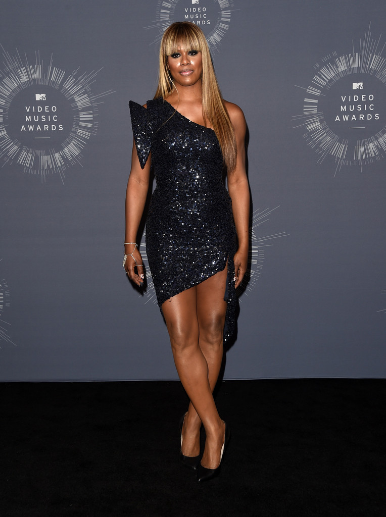 Laverne Cox One Shoulder Dress Laverne Cox Looks