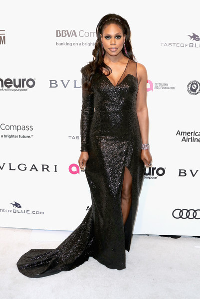 Laverne Cox Sequin Dress