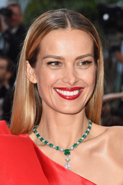 Petra Nemcova sported sleek straight tresses at the 2019 Cannes Film Festival screening of 'La Belle Epoque.'