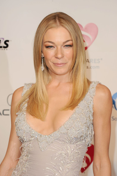LeAnn Rimes Dangling Diamond Earrings