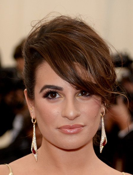 Lea Michele Dangling Diamond Earrings []