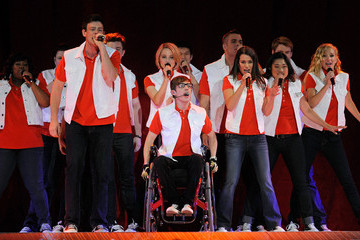 Lea Michele Heather Morris Glee Live! In Concert! At The Mandalay Bay Events Center