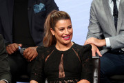 Lea Michele Little Black Dress