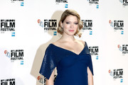Lea Seydoux Maternity Dress