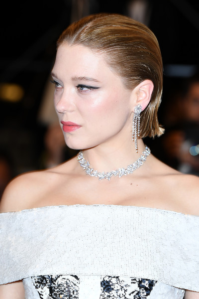 Lea Seydoux Short Straight Cut