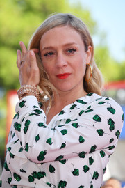 Chloe Sevigny flaunted a super-luxe diamond bracelet by Bulgari at the Venice Film Festival premiere of 'Lean on Pete.'