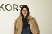 Leandra Medine Leather Coat
