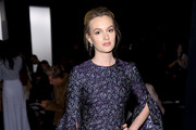 Leighton Meester Embroidered Dress