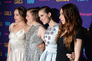 Lena Dunham Zosia Mamet 'Girls' Season 3 Premiere Event — Part 2