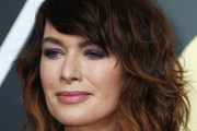 Lena Headey Medium Curls with Bangs