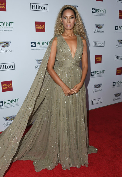 Leona Lewis Princess Gown [clothing,dress,red carpet,carpet,shoulder,gown,premiere,hairstyle,fashion model,long hair,leona lewis,point foundation honors,los angeles,california,beverly hills,the beverly hilton hotel,point foundation honors los angeles,gala]