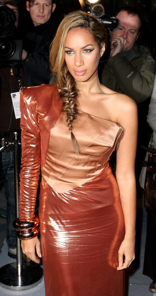 Leona Lewis Long Braided Hairstyle