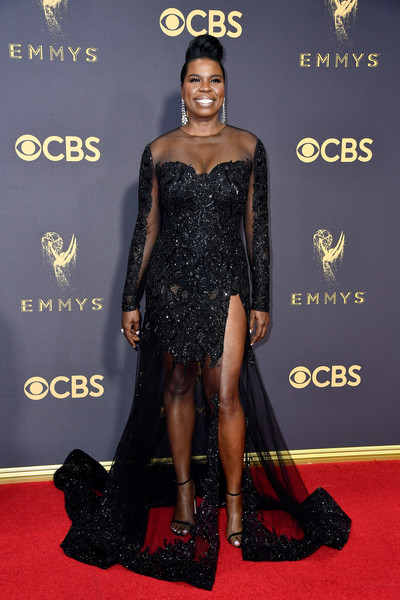 Leslie Jones Beaded Dress