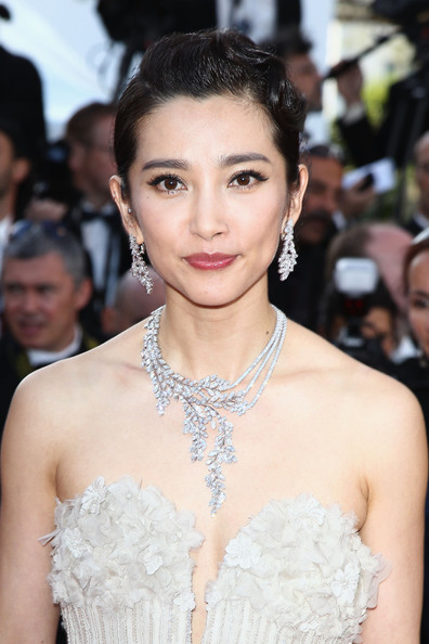 Li Bingbing Diamond Statement Necklace