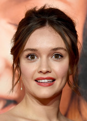 Olivia Cooke wore her hair in a disheveled beehive at the BFI London Film Festival premiere of 'Life Itself.'