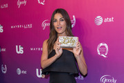 Lily Aldridge Box Clutch