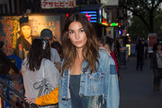 Lily Aldridge Denim Jacket