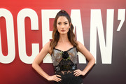 Lily Aldridge Sheer Dress