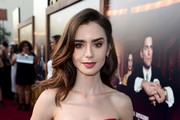 Lily Collins Stackable Rings