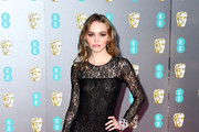 Lily-Rose Depp Sheer Dress