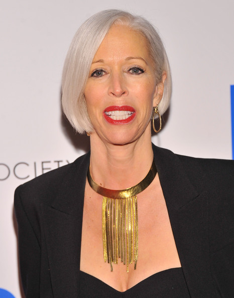 Linda Fargo Bob [scatter my ashes at bergdorf,hair,face,blond,lip,hairstyle,beauty,chin,award,neck,official,host,arrivals,linda fargo,cinema society with swarovski,florence gould hall,the premiere of eone entertainment,grey goose,cinema society,premiere]