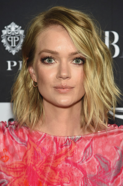 Lindsay Ellingson Shag [hair,face,hairstyle,blond,eyebrow,lip,chin,layered hair,long hair,brown hair,carine roitfeld,estee lauder,stella artois - arrivals,icons,plaza hotel,harpers bazaar celebrates,saks fifth avenue,fujifilm instax,genesis,infor]