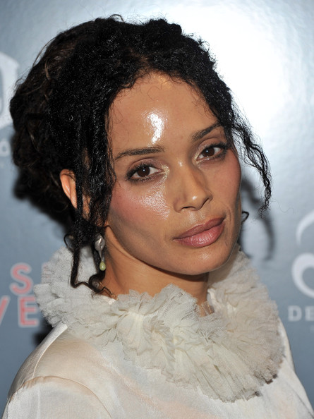 Lisa Bonet Bobby Pinned Updo