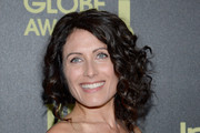 Lisa Edelstein Curly Updo