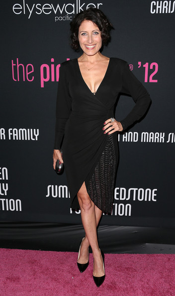 Lisa Edelstein Little Black Dress