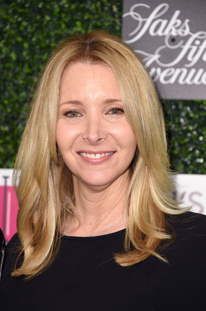 Lisa Kudrow Medium Layered Cut Lisa Kudrow Looks