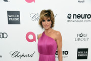 Lisa Rinna One Shoulder Dress
