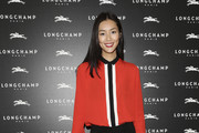Liu Wen Leather Pants
