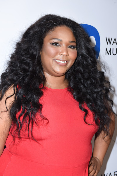 Lizzo Long Curls