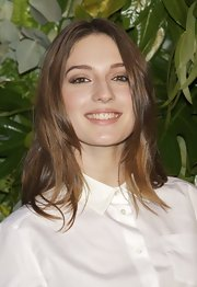 Maria Valverde sported a stylish layered 'do at the Loewe new collection party.