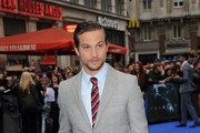 Logan Marshall-Green Flat Oxfords