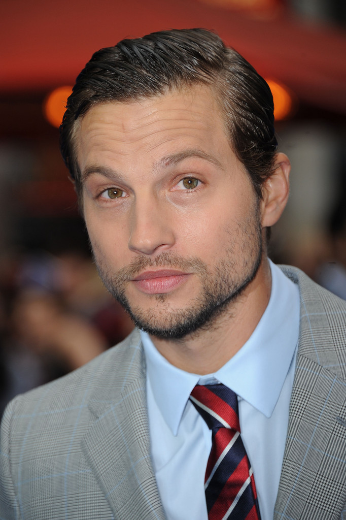 Logan Marshall Green Side Parted Straight Cut Short