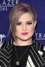 Kelly Osbourne looked super edgy with her half-shaved hair at the 2017 Trailblazer Honors.