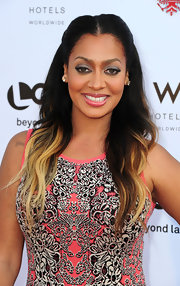 La La Anthony wore her hair in a half-up style with long wavy lightened ends at the 2012 NewNowNext Awards.