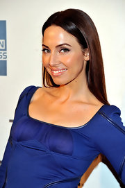 Whitney Cummings attended the premiere of 'Lola Versus' wearing her long signature tresses sleek and straight.