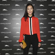 Liu Wen at the Lonchamp Cocktail