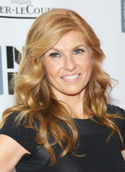 Connie Britton sported a gorgeous wavy 'do at the 'All is Lost' premiere during NYFF.