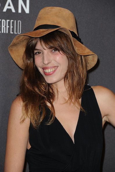 Lou Doillon Wide Brimmed Hat