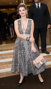 Pixie Geldof showed off her Fall 2010 cocktail dress while attending the Bond Street Maison Launch.
