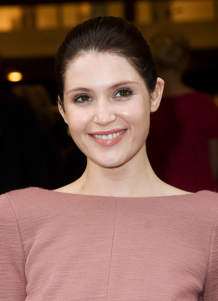 More Pics of Gemma Arterton Classic Bun (1 of 7) - Gemma Arterton Lookbook - StyleBistro