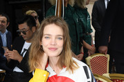 Natalia Vodianova Button Down Shirt