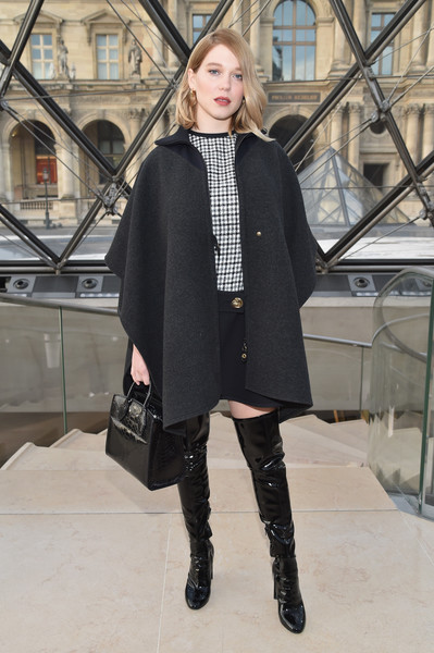Lea Seydoux at Louis Vuitton