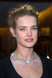 Natalia Vodianova completed her fairy tale look with this tightly curled updo.